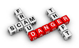 Scam-Fraud-Danger Logo