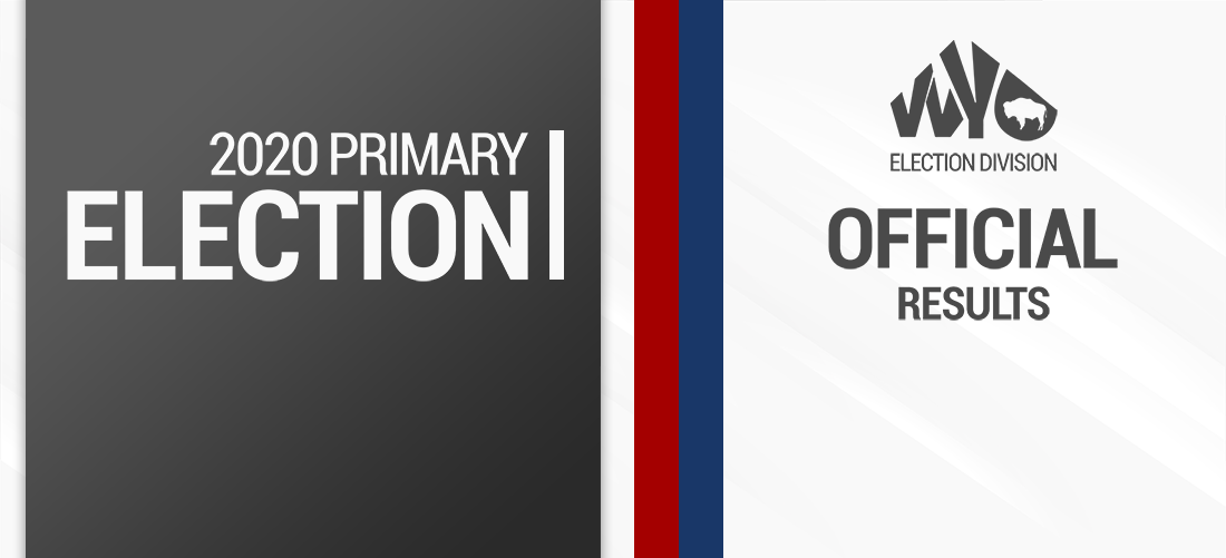 2020 Official Primary Election Results