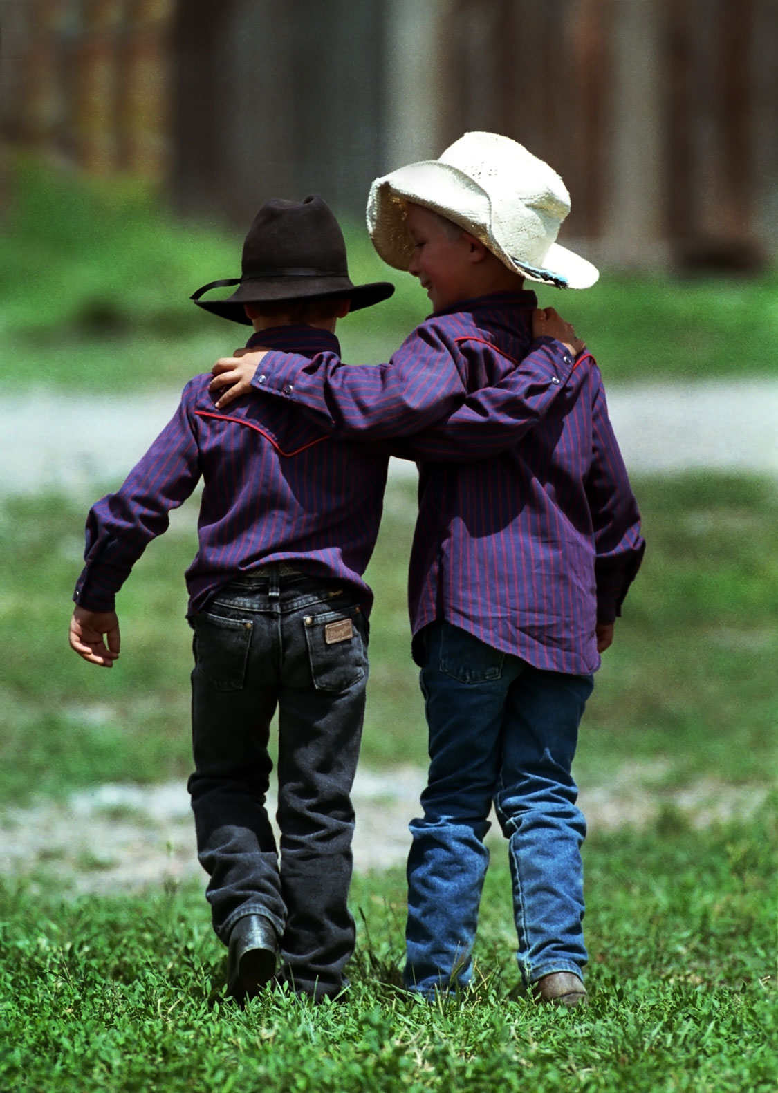 Young cowboys courtesy of Wyoming Travel & Tourism
