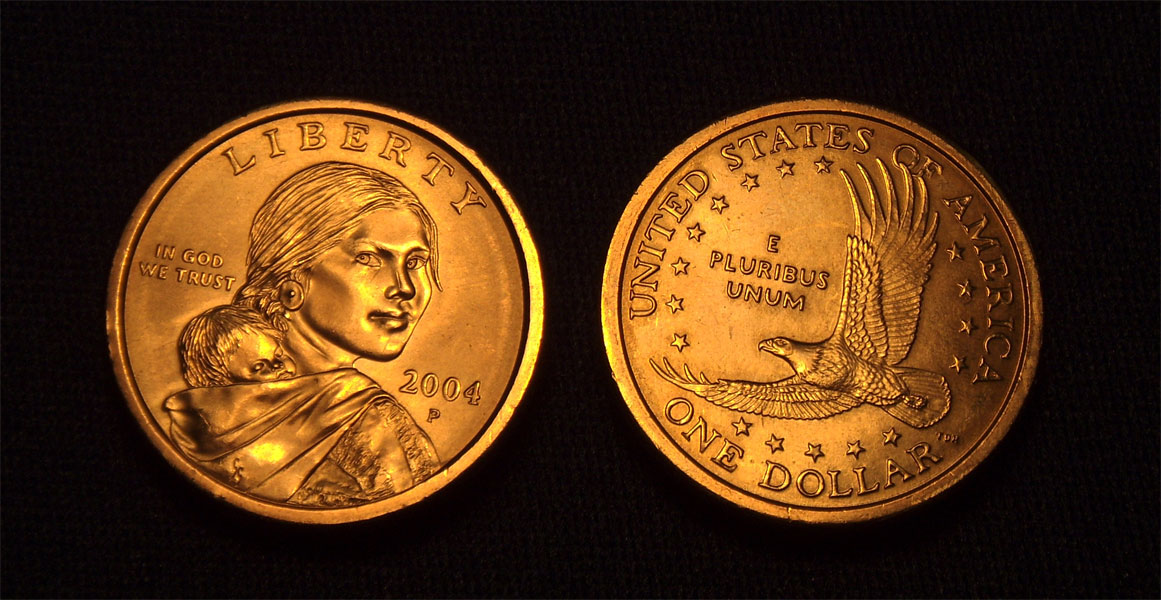 Sacagawea: Wyoming's State Coin courtesy of Lori Medina